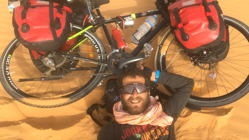 Cycling through Africa: Turkish Hasan Söylemez's adventure of a lifetime