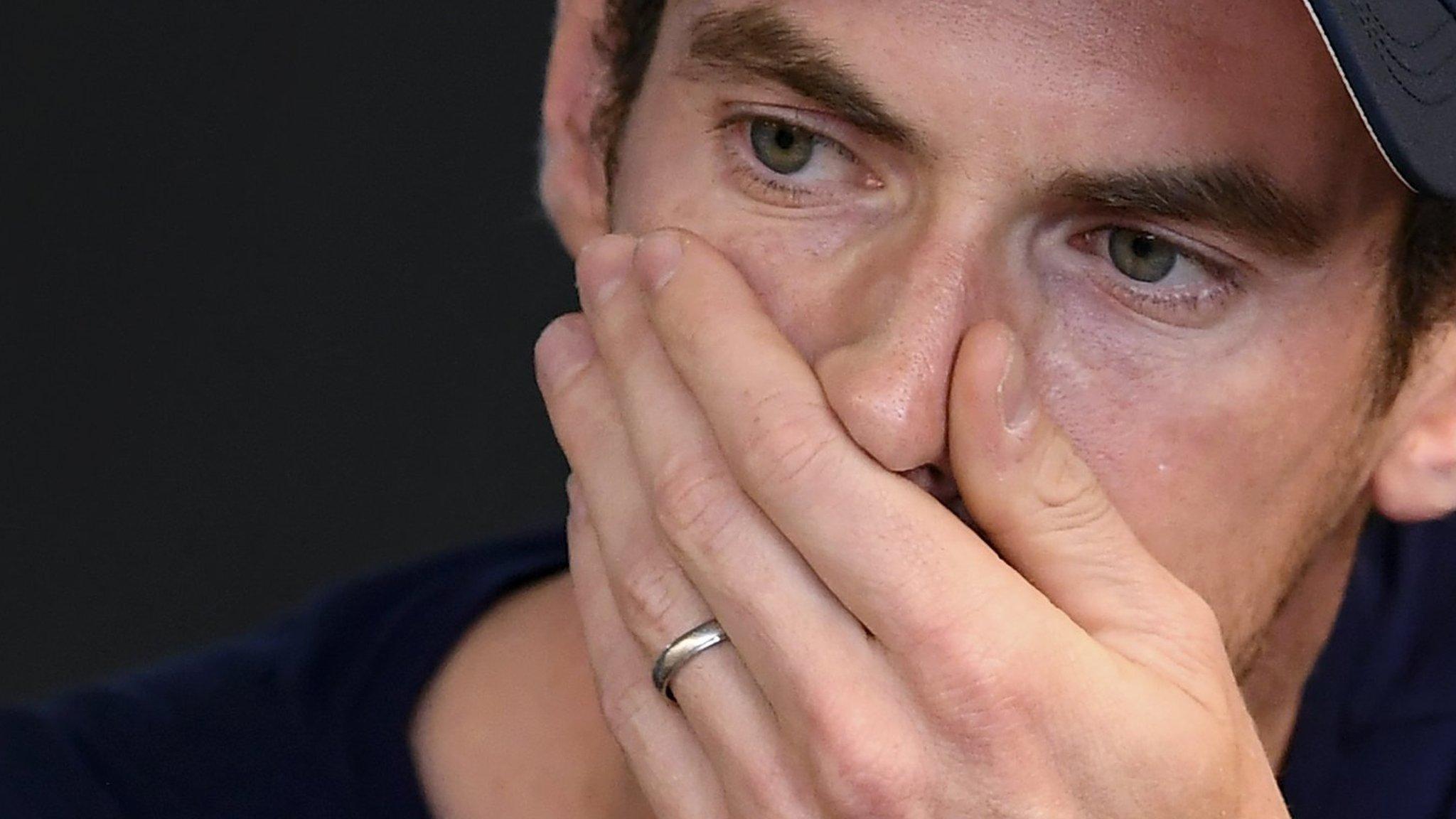 Tearful Andy Murray fears end of career
