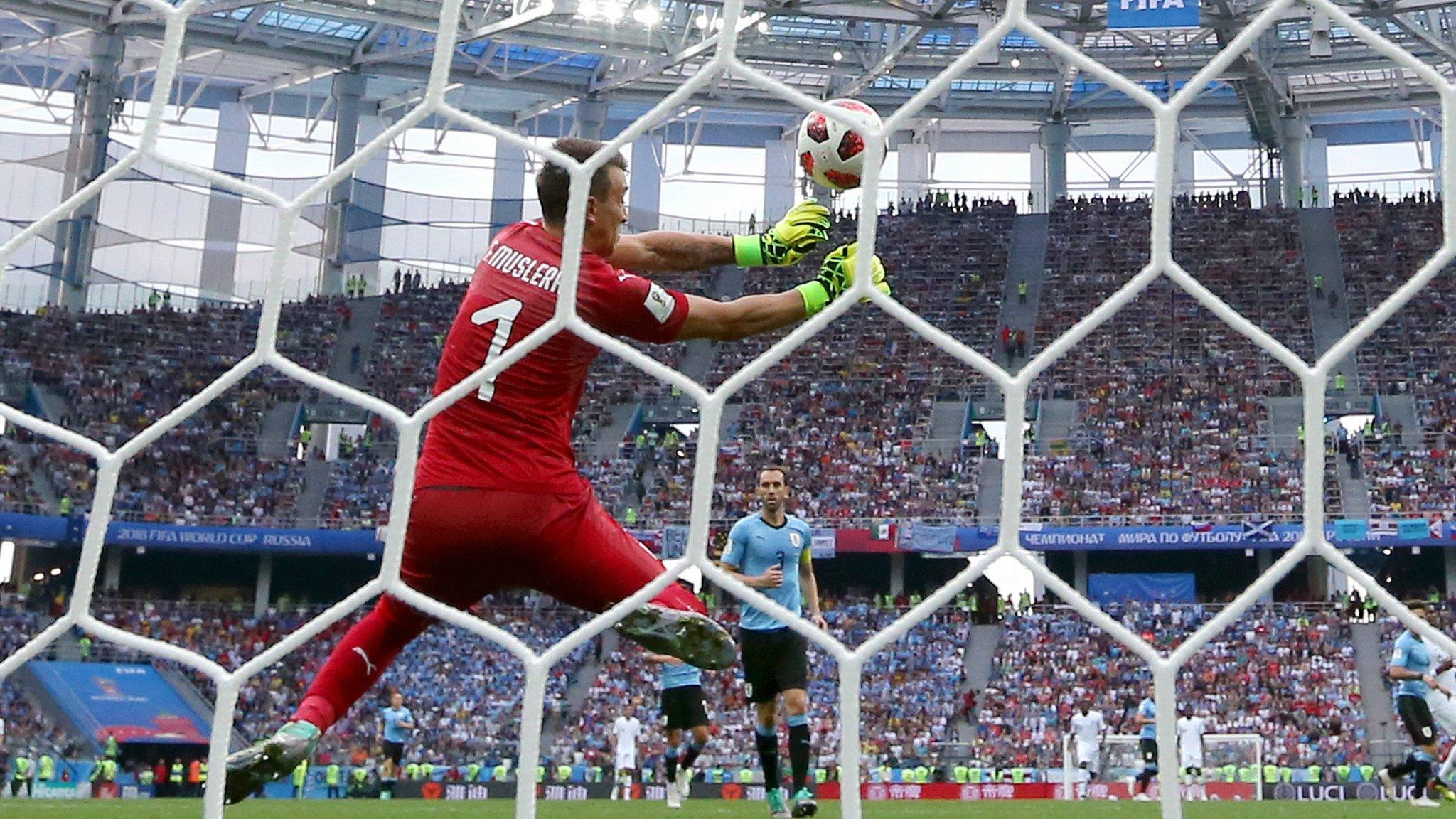 World Cup 2018: France go 2-0 up as Antoine Griezmann strike slips through hands of Uruguay's Fernando Muslera