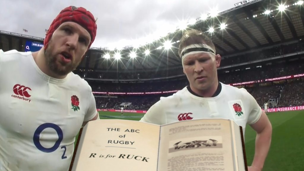 Watch - Six Nations Remix: England don't know the rules