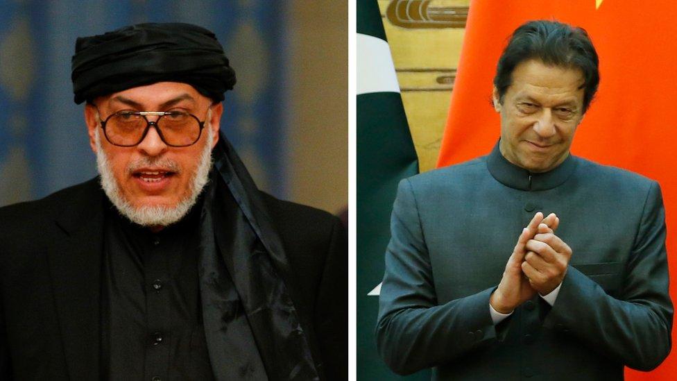 طالبان راتلونکې اونۍ پاکستان کې له عمران خان سره ګوري