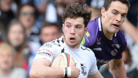 Pontypridd's Owen Jenkins takes on Ebbw Vale in May, 2015