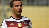 Germany striker Mario Goetze