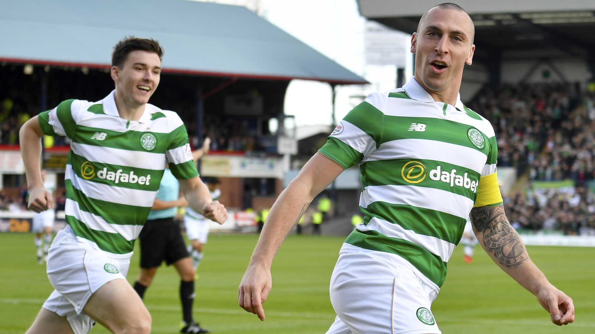 Brown scores winner for Celtic at Dundee