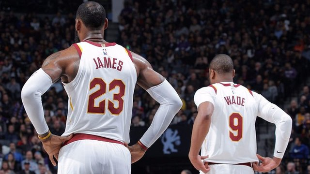 'Peanut butter & jelly' LeBron James & Dwyane Wade star in NBA best plays