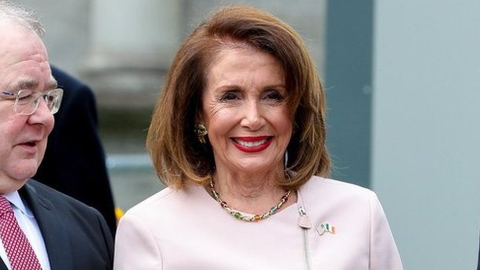 Nancy Pelosi to visit Irish border and Derry