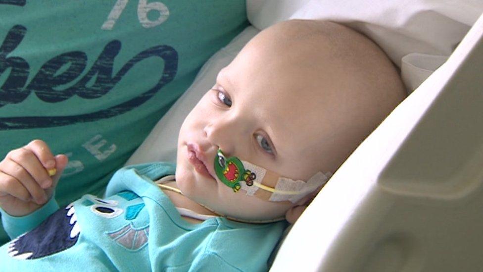 Cash for sick child's treatment stolen