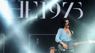 BBC - Newsbeat - The 1975's Matt Healy on 'surreal' new video for Somebody Else