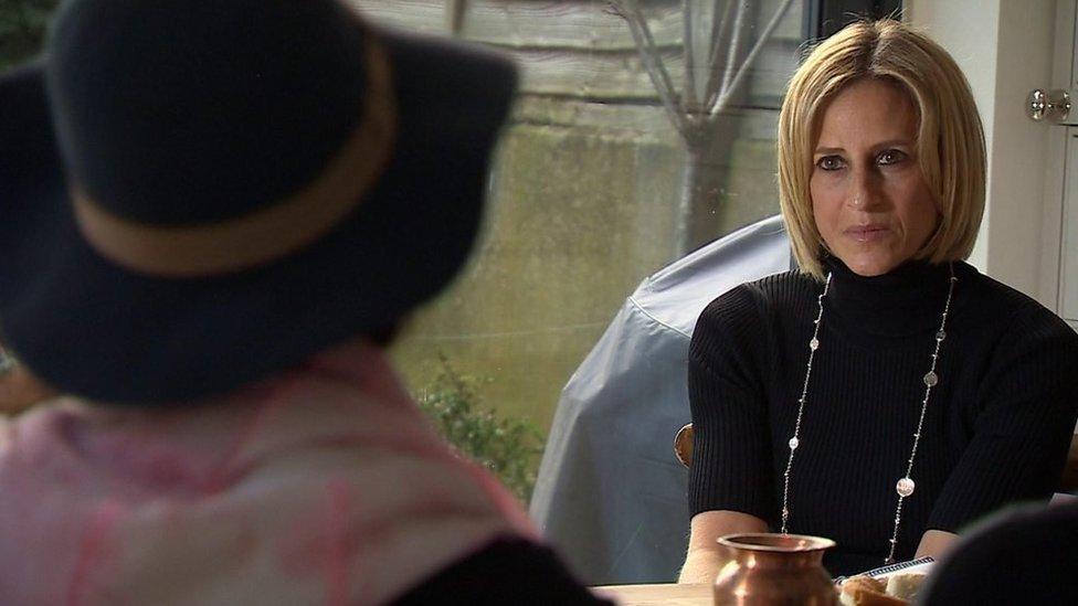 Imagen de la entrevista.