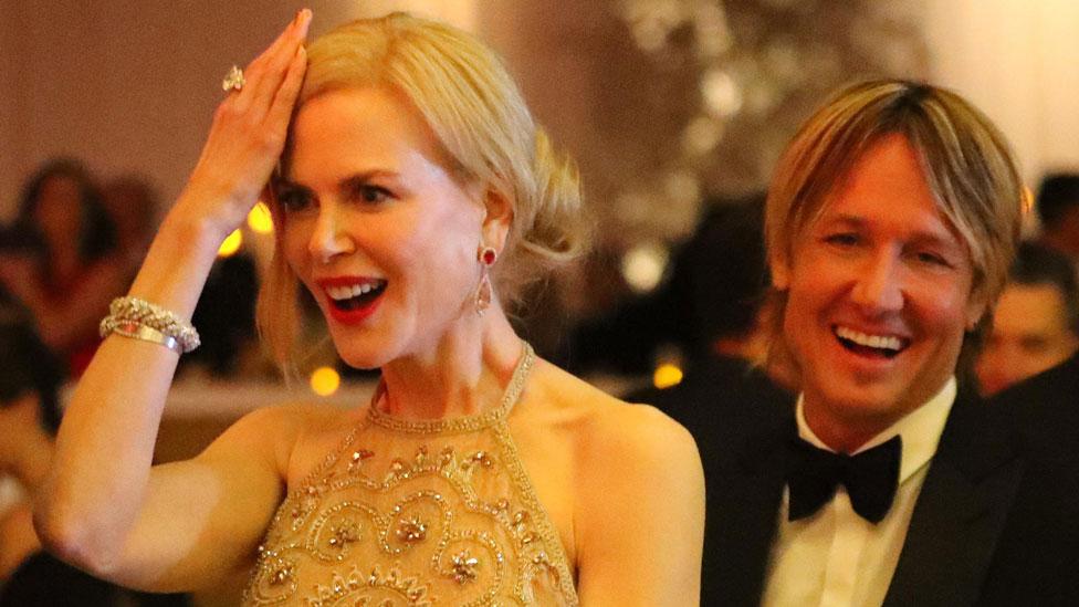 Kidman explains her Oscars