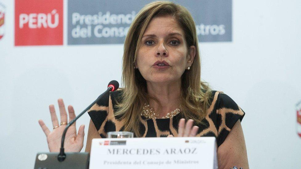 Mercedes Aráoz.