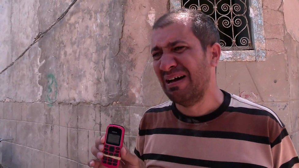 Alí, un iraquí que buscaba a su hermano