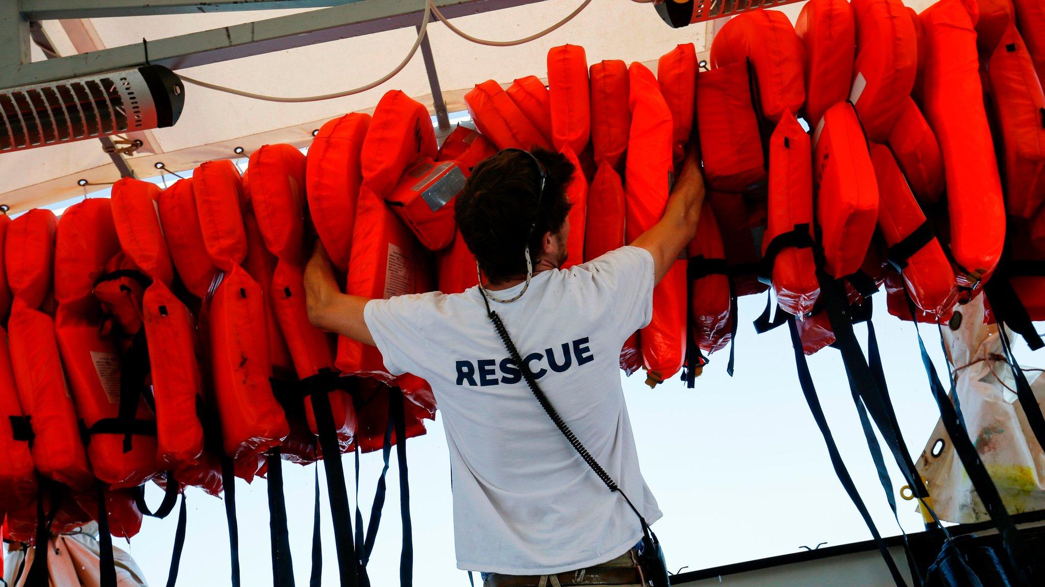 The Aquarius: Migrant taxi service or charitable rescuers?