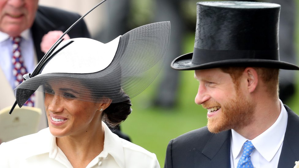 In pictures: Harry and Meghan make Ascot debut