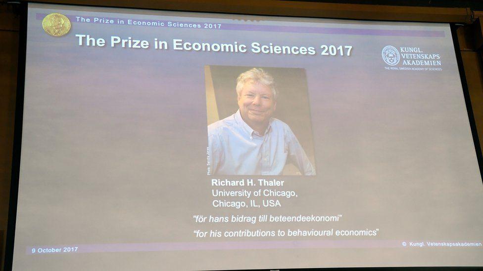 Нобеля з економіки отримав Річард Талер