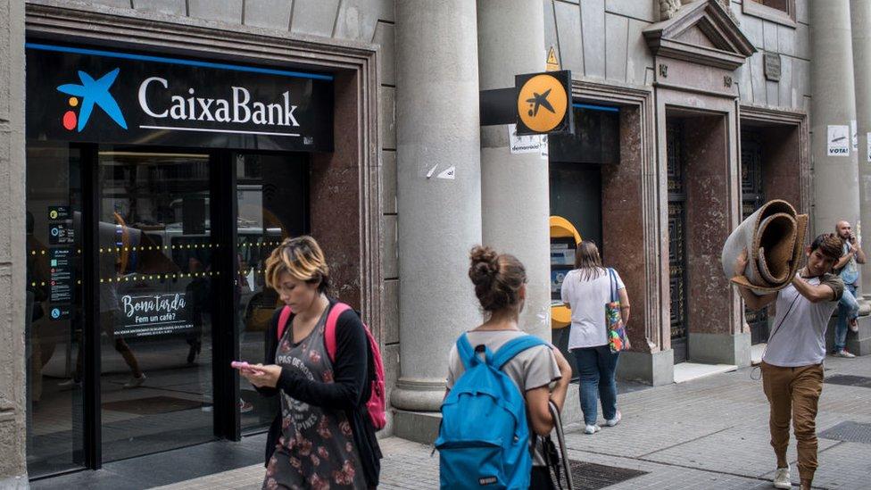 CaixaBank tiene grandes inversiones en Chile, Colombia, Brasil y Perú.