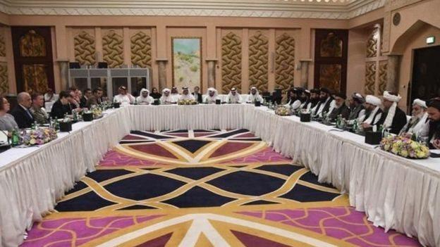 د قطر خبرې؛ لانجه اواره شوې پلاوي پر شپږو موضوعاتو خبرې کوي