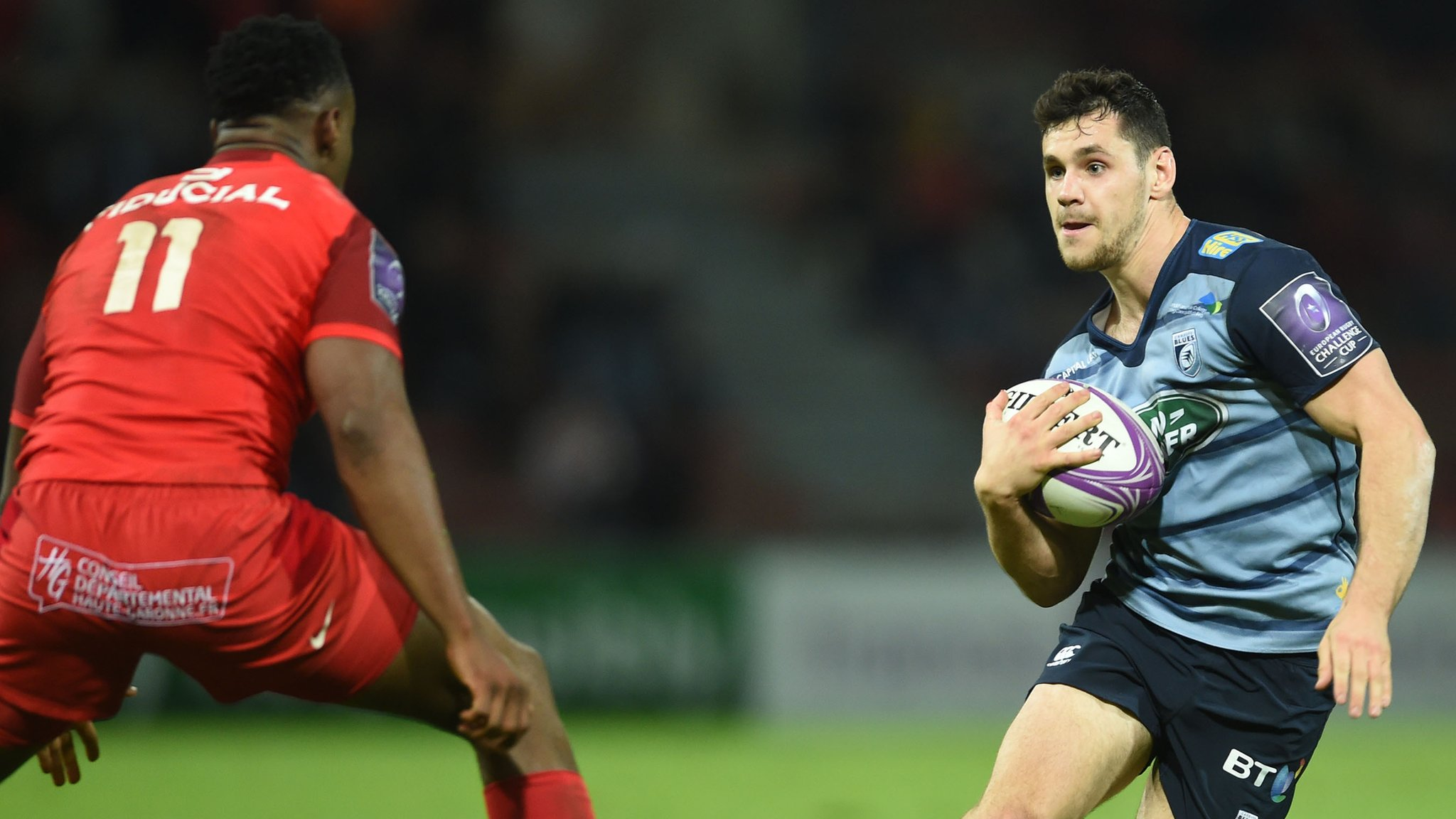 Cardiff hold on to win in Toulouse