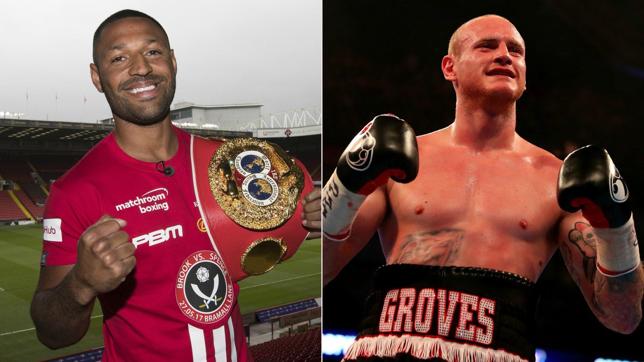 Kell Brook plots Errol Spence shock as George Groves looks to end world title wait