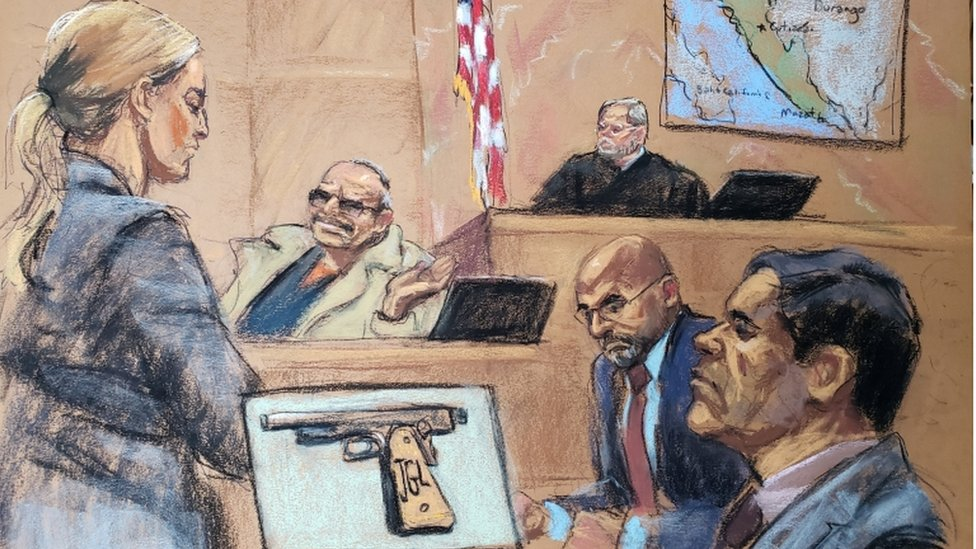 From shocking to bizarre: How 'El Chapo' trial unfolded