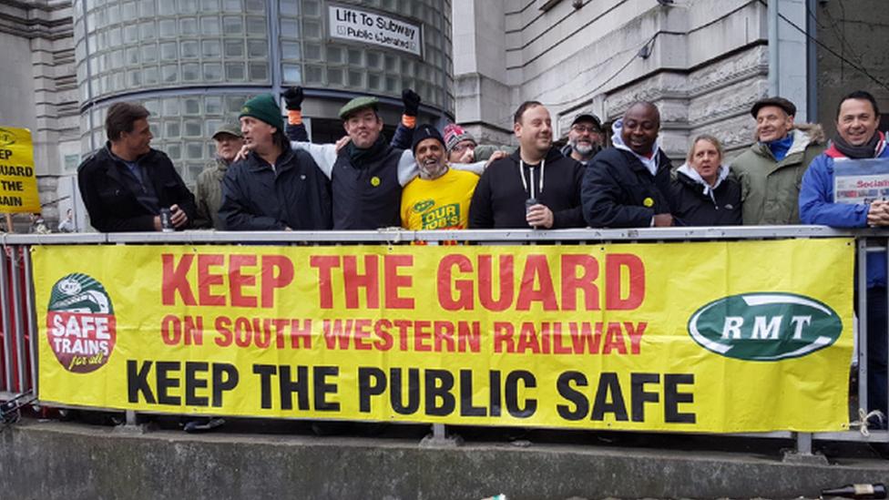 South Western Railway strikes planned for Christmas week