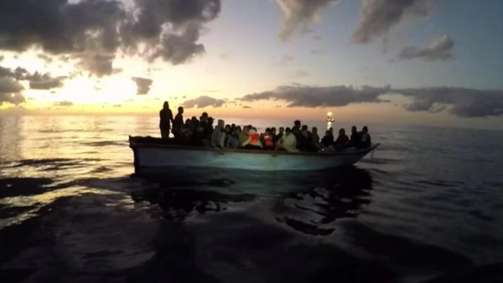 Forty-three migrants rescued off the Libyan coast
