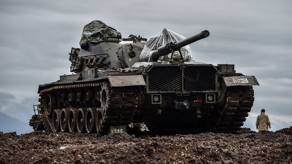 Afrin: Syria 'sending fighters to help Kurds against Turkey'