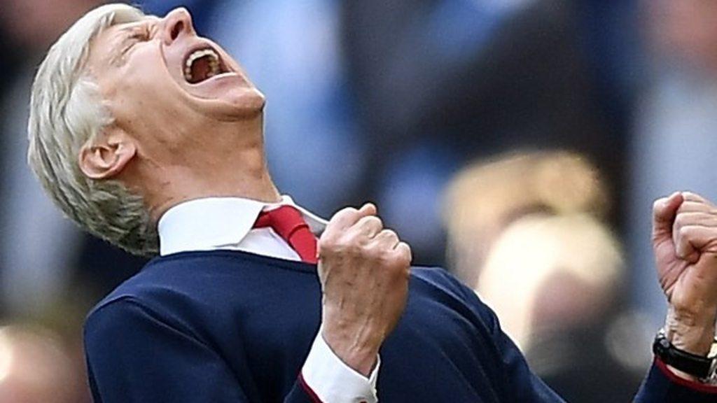 Arsenal 2-1 Man City (aet): Arsene Wenger hails 'great performance'
