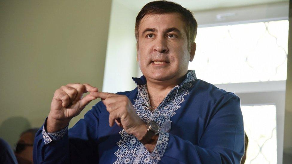 Саакашвили не явился в суд