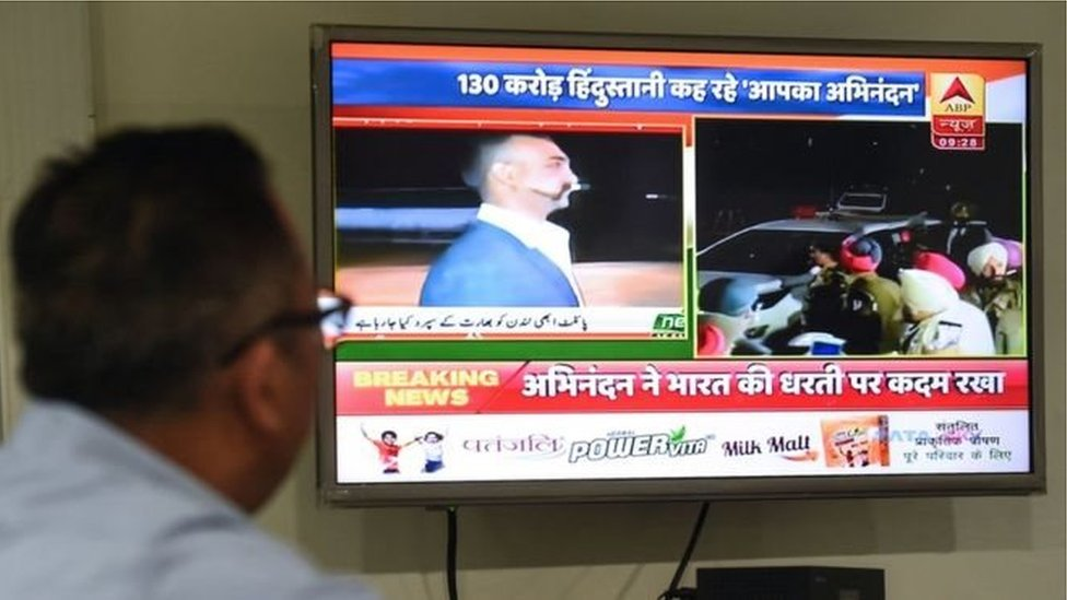 انڈیا پاکستان: ٹی وی پر جنگ کس طرح لڑی گئی