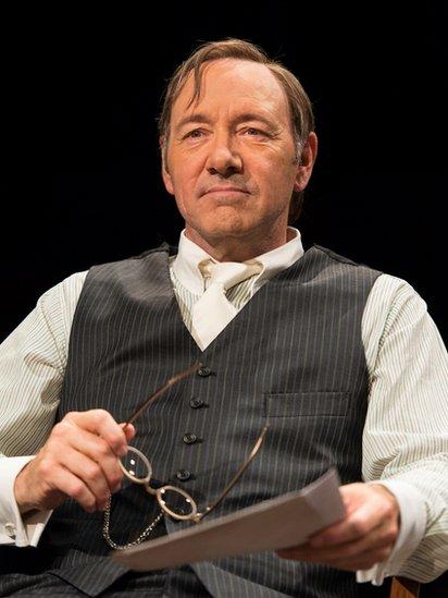 Kevin Spacey en el teatro