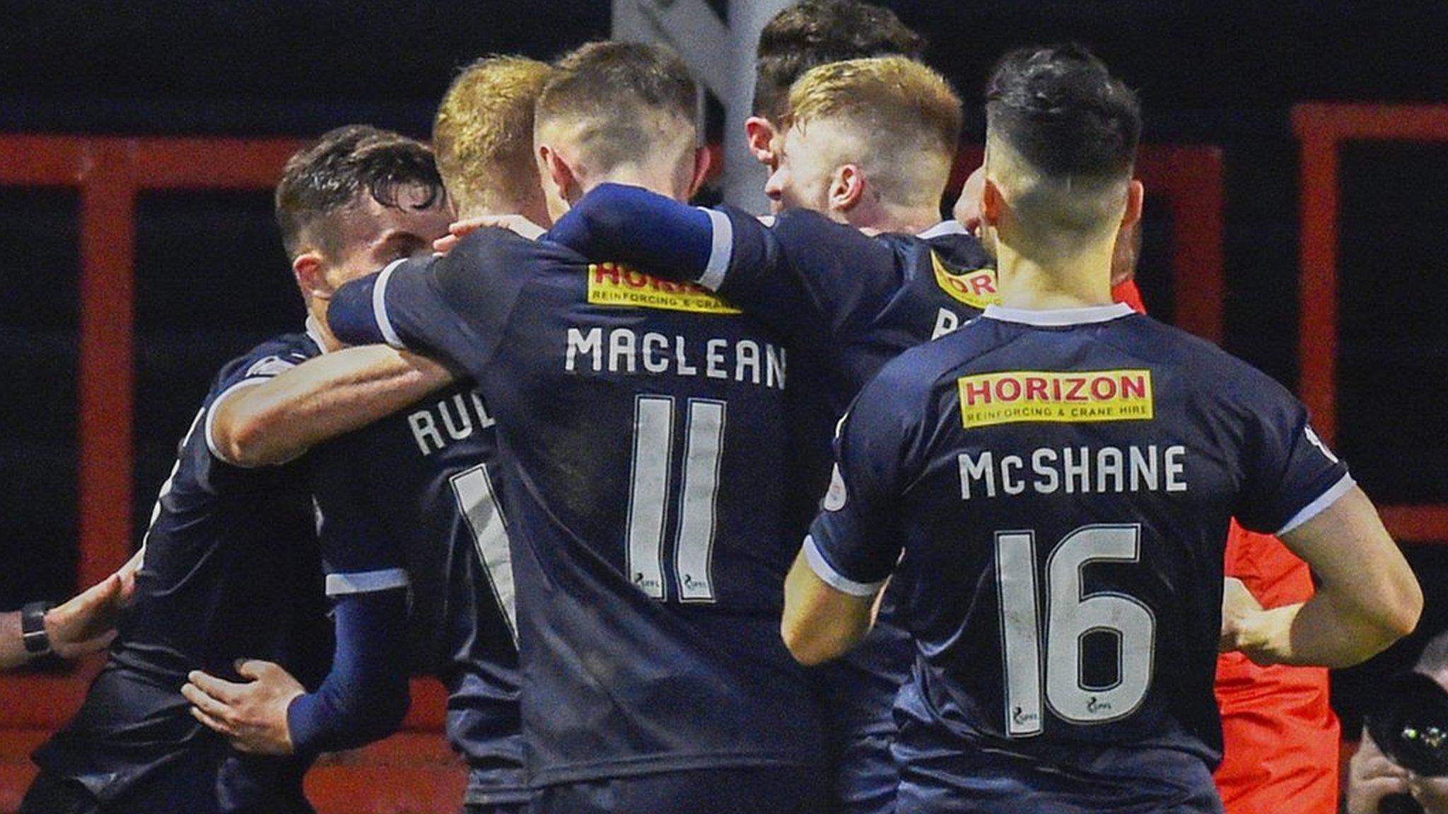 Partick Thistle 1-1 Falkirk: Rudden strike earns visitors vital point