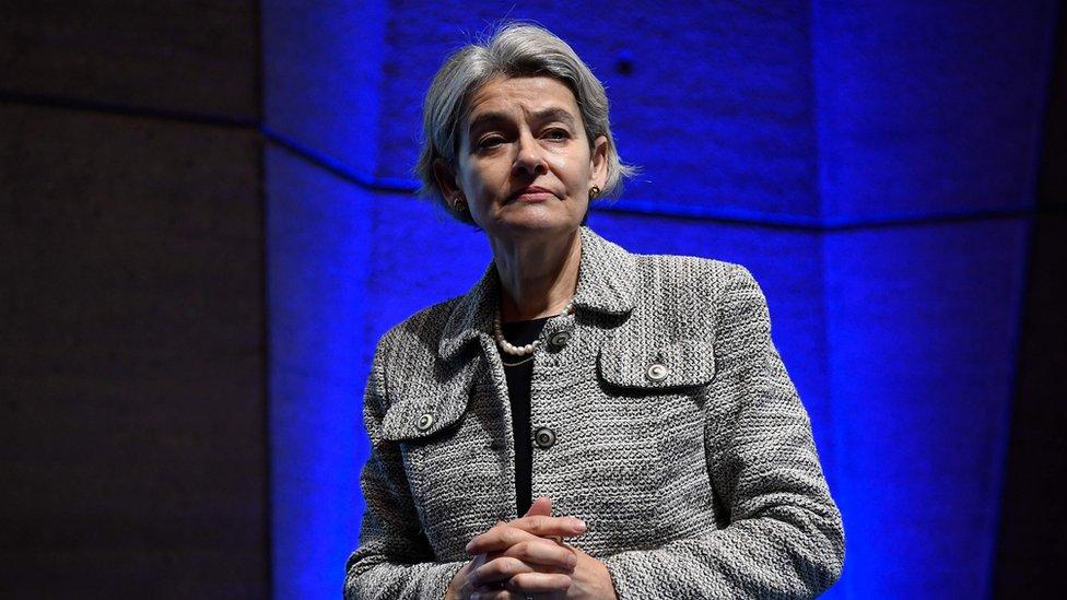 La directora general de la Unesco, Irina Bokova, lamentó la salida de Estados Unidos