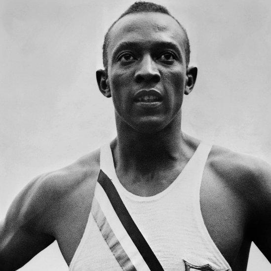 Jesse Owens fue el primer gran velocista estadounidenses.