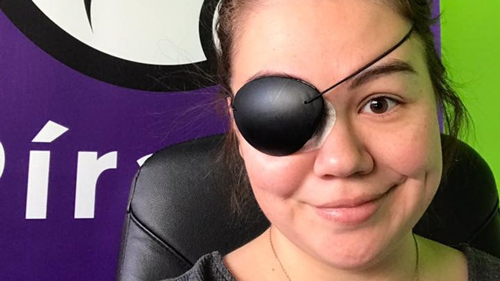 Icelandic Pirate Party MP forced to wear eyepatch