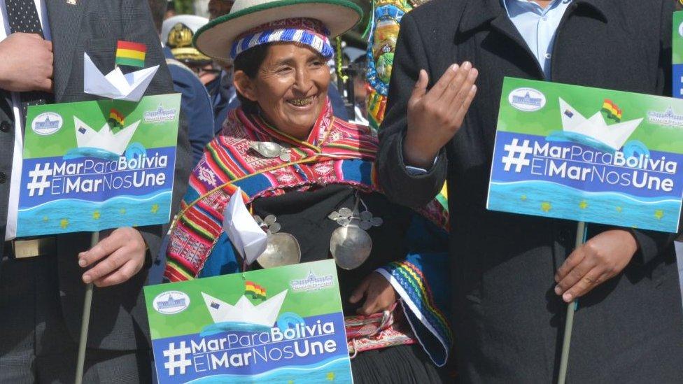 Bolivia y Chile tienen una controversia fronteriza que ha empañado la relación bilateral.
