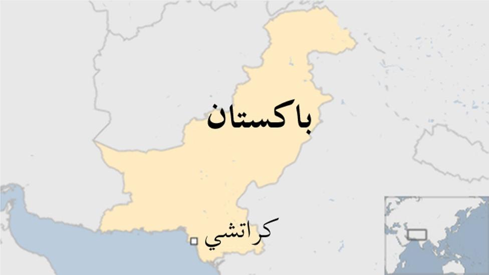 خريطة كراتشي