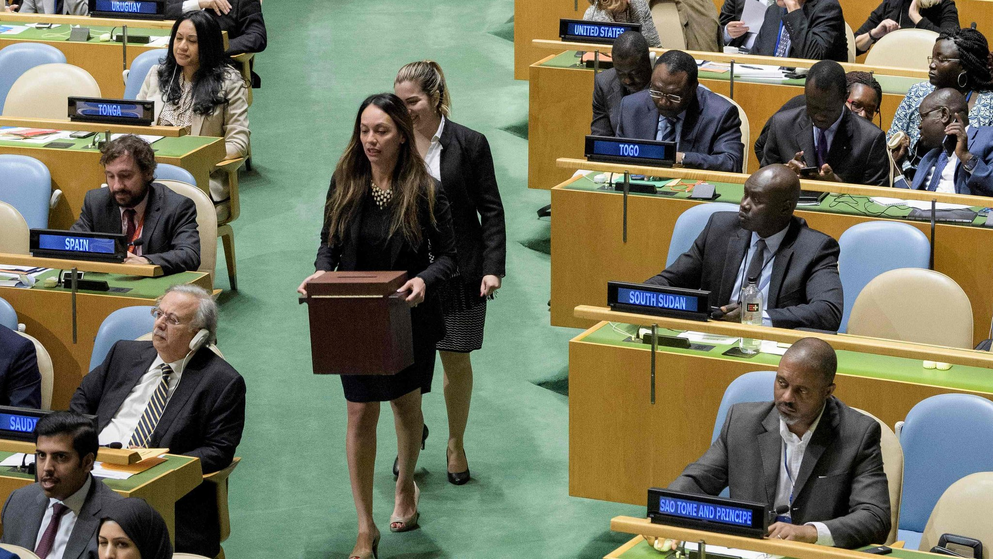 UN criticised over new human rights council members