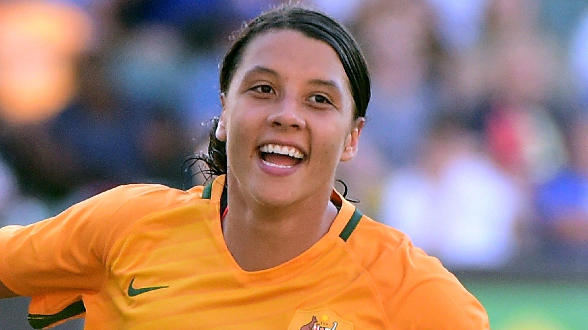 Women's Footballer of the Year contender Sam Kerr
