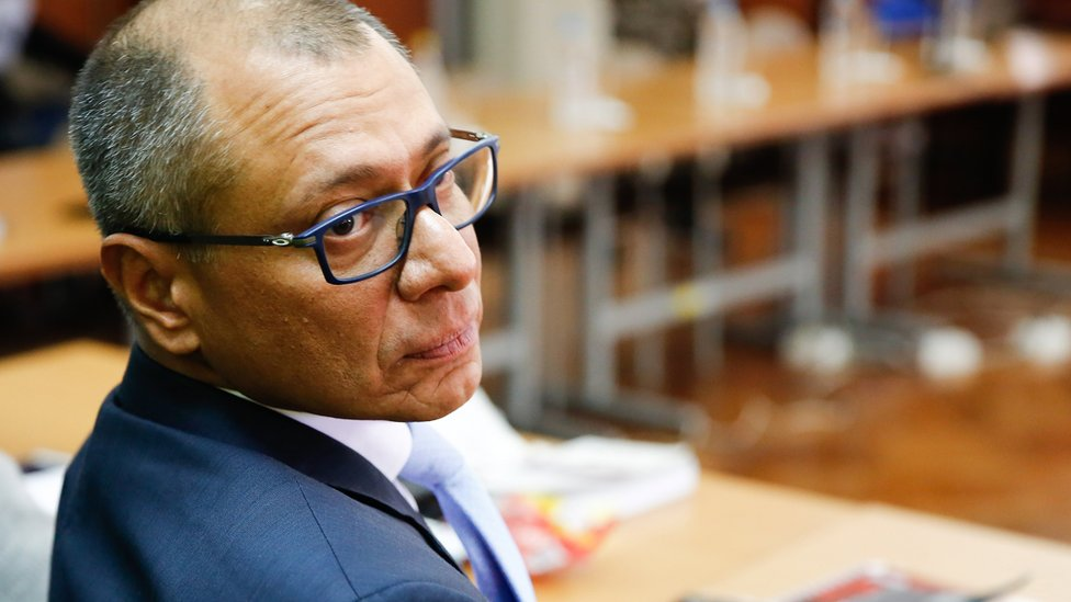 Ecuador VP Jorge Glas sentenced for corruption in Odebrecht case