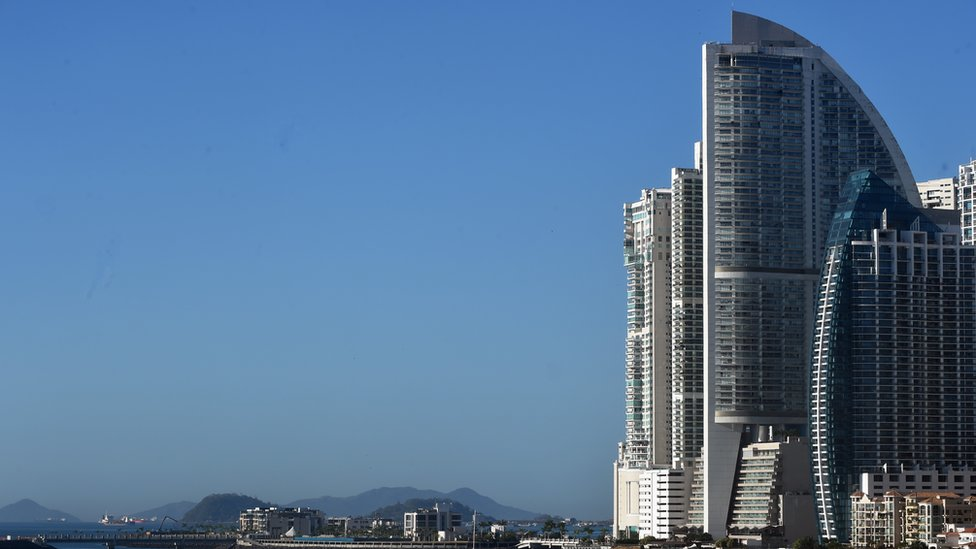 Hotel Trump en Panamá.