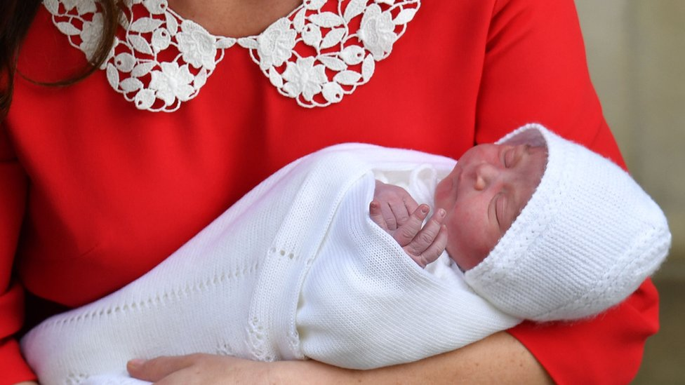 Royal baby: Duke and Duchess show off new son