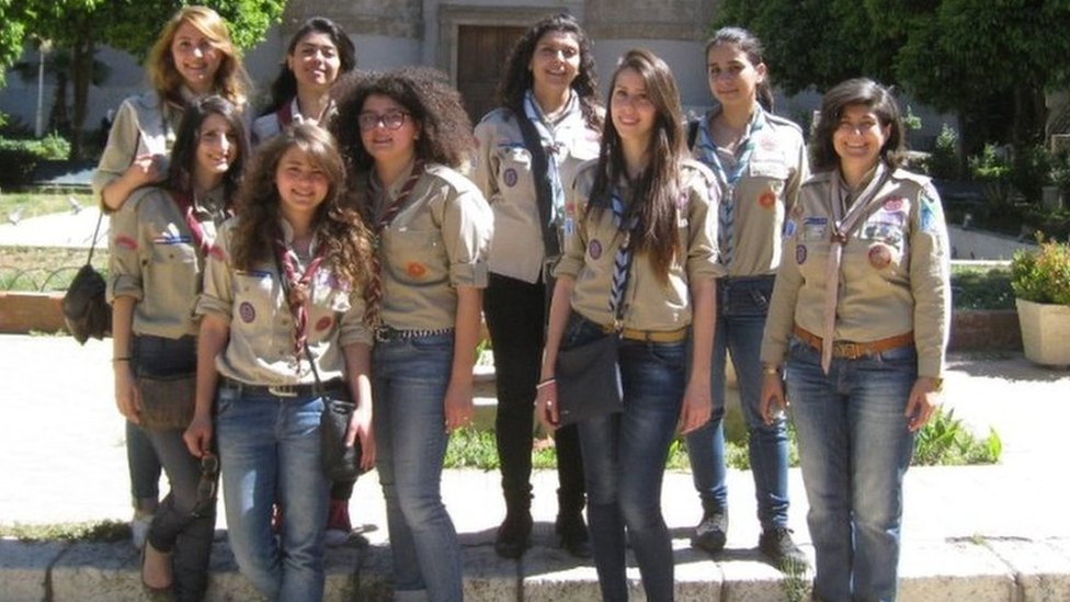 The world's least likely Girl Guides