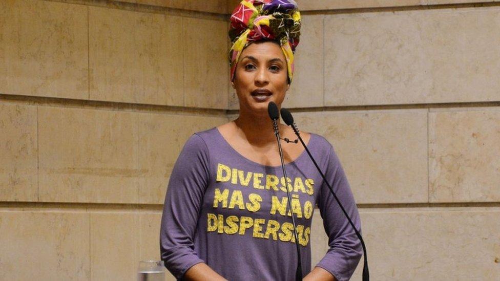 Marielle Franco, en una sesión de la cámara el año pasado.