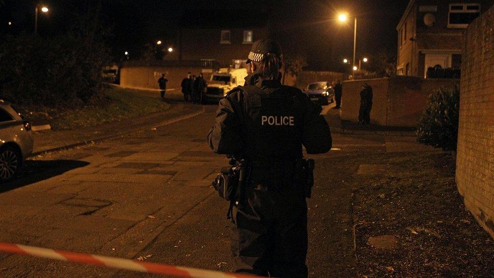 Man shot dead in Glenwood Court in west Belfast
