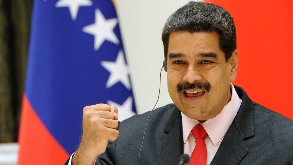 Nicolás Maduro ha sido sancionado pos los gobiernos de Canadá y de Estados Unidos.