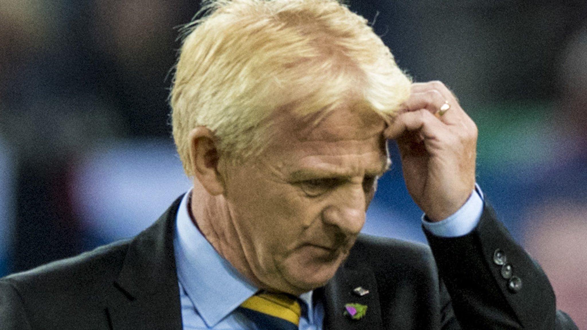 'Yob behaviour' at football is 'nothing new' - Gordon Strachan