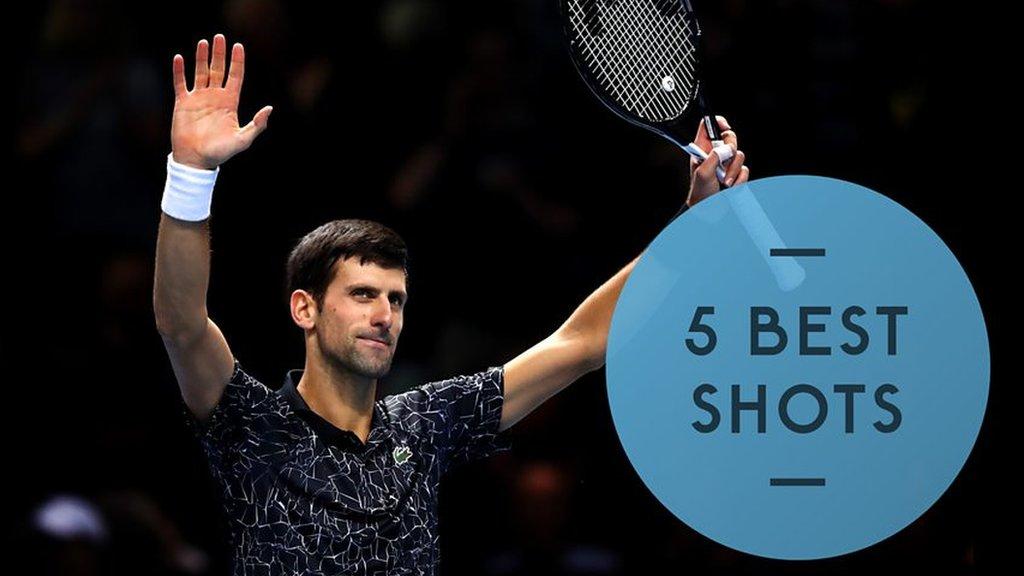 Watch: Djokovic beats Zverev in straight sets