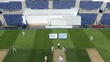 Empty seats at the Zayed Cricket Stadium