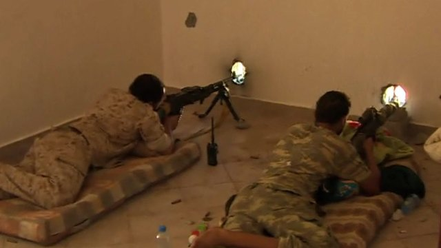 Flushing out IS fighters in Libya's Sirte